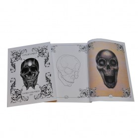Illustration Book tatouage