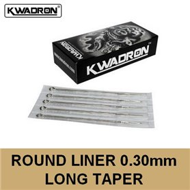 Aiguille Round Liner (RL) 0,30mm Kwadron