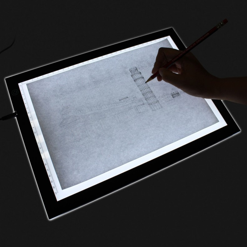 Table Lumineuse pour dessiner