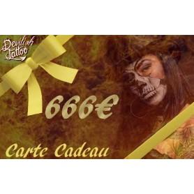 Carte cadeau 666€