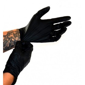 Gants Nitrile NITRAS Black Wave