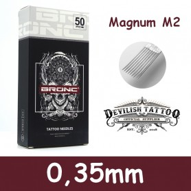 Aiguilles Magnum (M2) 0,35mm Deluxe - Par 5 ou 50