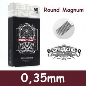 Aiguilles Magnum arrondi 0,35mm Deluxe - Par 5 ou 50