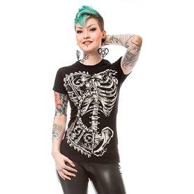T-shirt VIXXSKIN Femme squelette