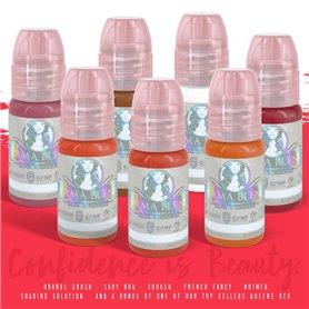 Kit encre PERMA BLEND Sweet lips 15ml - Set de 7 encres