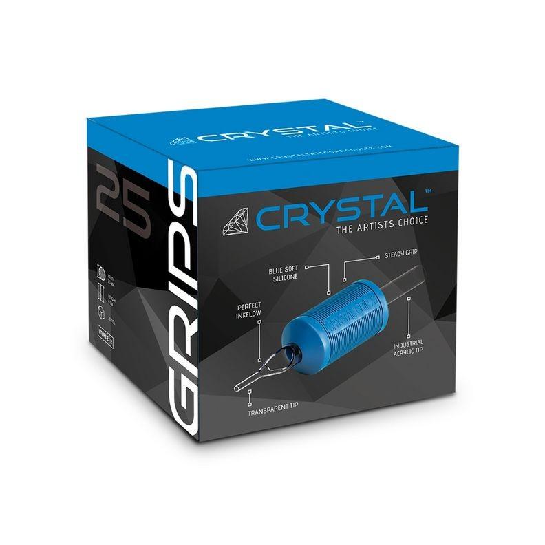 Tubes complets jetables CRYSTAL 25mm - Par 20