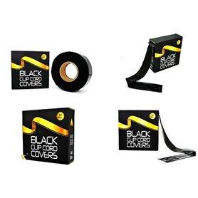Protection pour Clip Cord noir - Rouleau de 300m