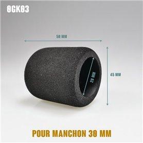 Surmanchon en mousse Ø45mm - Grip Ø30mm - Long 50mm