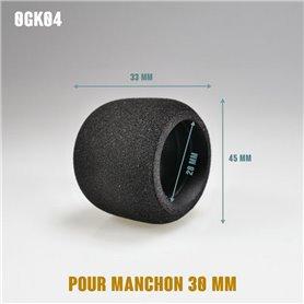 Surmanchon en mousse Ø45mm - Grip Ø30mm - Long 33mm