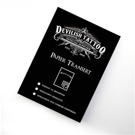 Feuilles de Transfert DEVILISH TATTOO