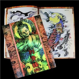 Livre Tattoo Illustrations Chinoises