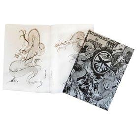 Livre tattoo 100 Dragons by Horimouja