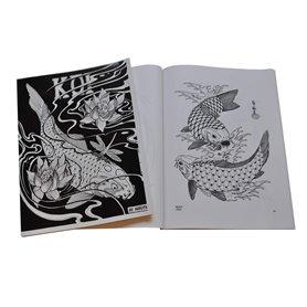 Livre tattoo Carpe Koi By Horimouja