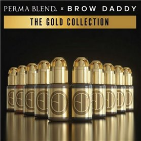 Kit encre PERMA BLEND Brow Daddy Gold Collection