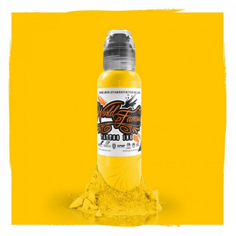 Encre WORLD FAMOUS Great Wall Yellow 30ML