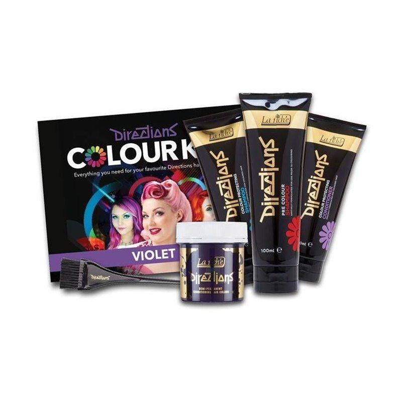 Kit coloration cheveux LA RICHÉ DIRECTIONS - Violet