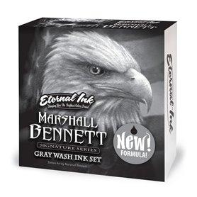 Kit 4 encres ETERNAL Gray Wash - Marshall BENNETT